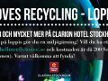 Clarion Loves recycling - Loppis